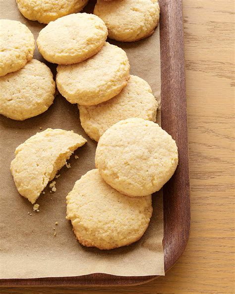 martha stewart cookies cornmeal cookies recipe martha stewart