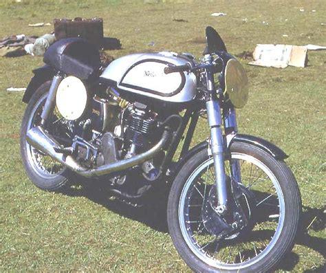 Rolfe Classic Motorrad by Classic Racer Original Werksnorton 1953 0 Galerie
