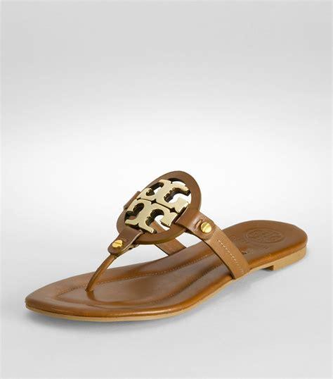 birch sandals burch miller sandal in brown lyst