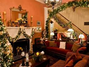 Decorated Homes Interior Decorated Houses For Christmas Beautiful Christmas