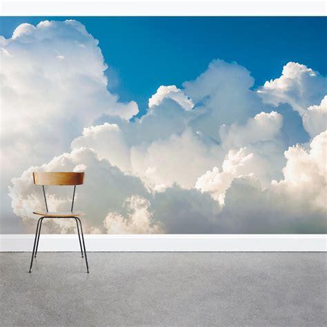 cumulus clouds wall mural clouds wallpaper  wallums