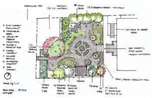 backyard plans designs berkeley cottage garden concept plan ian design