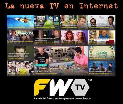 la nueva voz social fwtv la nueva televisi 243 n social recursos gratis en internet