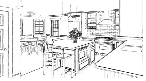 sketch to design a 3d kitchen 3d home design renderings home design consulting