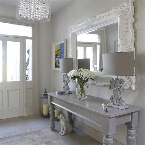 hall shabby chic style hallway landing dublin by optimise design