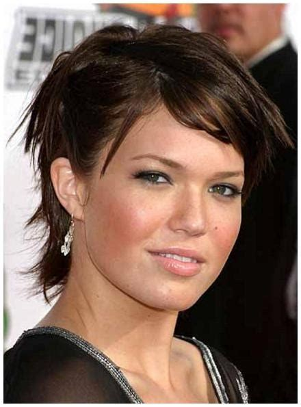 best hairstyle for chubby oval face 2018 latest short haircuts for chubby oval faces
