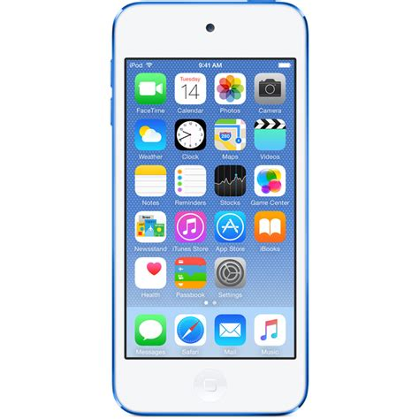 new apple ipod touch 16gb blue 6th sixth generation ebay