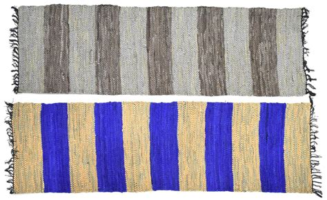 leather rag rug 2 leather rag rug runners june estates auction day one auction gallery