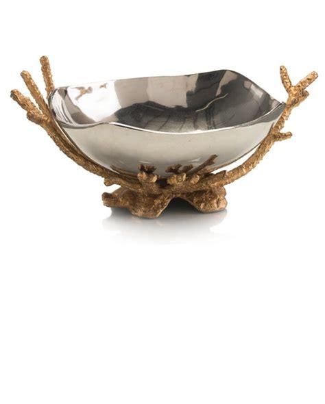 brass and nickel decor instyle decor com oval nickel brass coral centerpiece