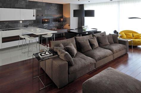 interior design brown sofa interesting brown couch gray wall interior design ideas