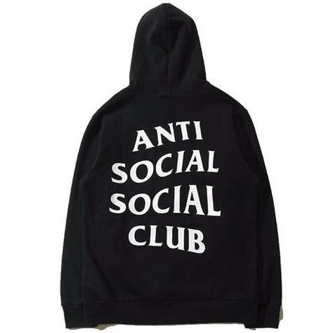 Consign Assc Anti Social Social Club On My Way hoodie anti social social club