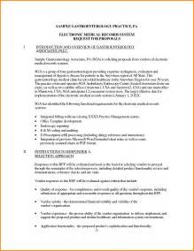 Cover Letter For Rfp by Request For Exle Rfp Response Cover Letter