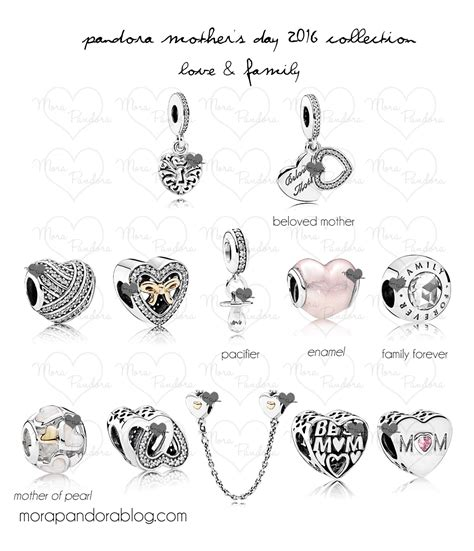 mothers day pandora charm 2018 pandora s day 2016 preview family il mio