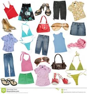 different female clothes stock image image 2681191