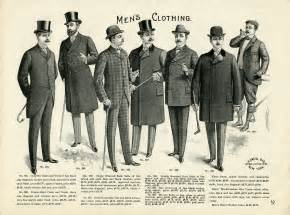 Vintage men s clothing catalogue page and clip art free download
