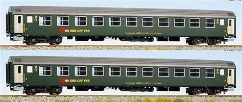 set of 2 ls ls models set of 2 passenger cars 2nd class type bm with
