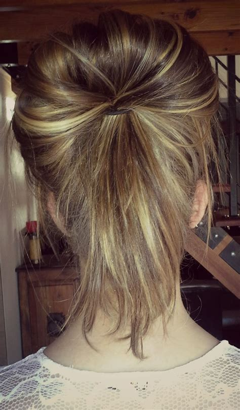 chigon blonde highlights pin by sarah davis on my style pinterest