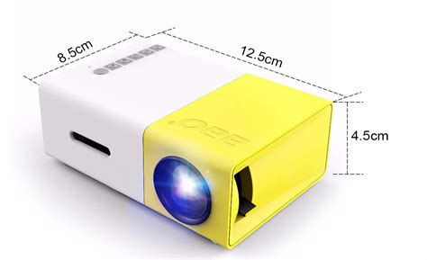 Proyektor Yg 300 yg 300 lcd led projector 400 600 lumens 320x240 800 1 support 1080p portable office home cinema
