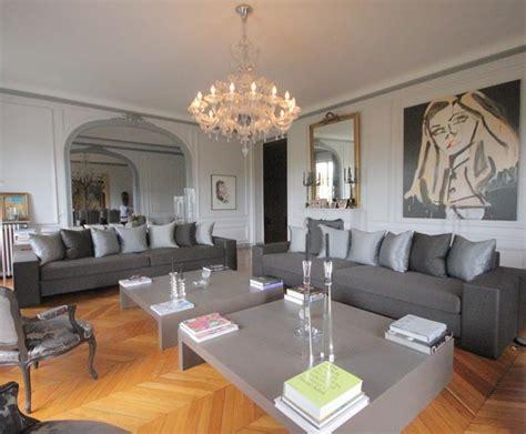 Superbe Chambre Marron Et Turquoise #8: 0284021406755042-c1-photo-oYToxOntzOjE6InciO2k6NjQ0O30%3D-appart-haussmanien-gris-16.jpg