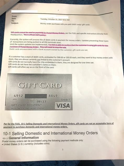 Where To Buy Money Order With Gift Card - now hard coded new usps memo gift cards are not accepted to buy money orders