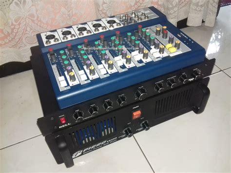 Mixer Rakitan Murah aksesoris audio sound system paket rumahan acara kecil mixer parametric pa 2x400w