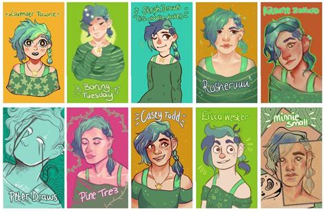 dofferent styles of the crunch haorstyle 20 styles challenge youtubers part one art amino