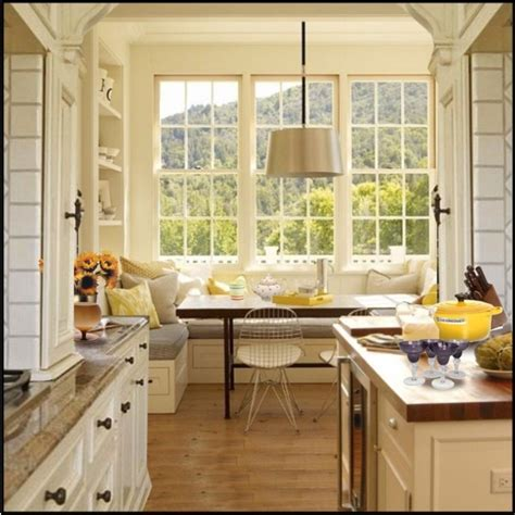 kitchen window seat ideas window seat kitchen eating area for the home indoors