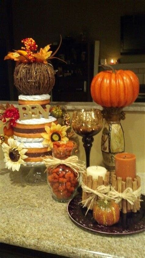fall themed centerpieces fall themed baby shower decor baby shower themed baby showers baby