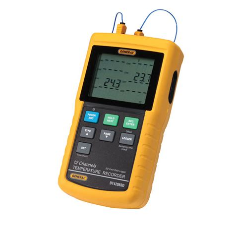 12 channel temperature recorder w sd card data logging from cole parmer