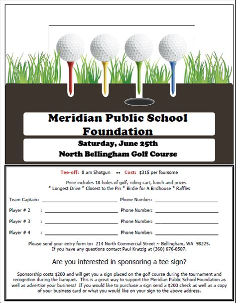 golf outing sign up sheet template 2011 mpsf golf tournament signup sheet 187 meridian