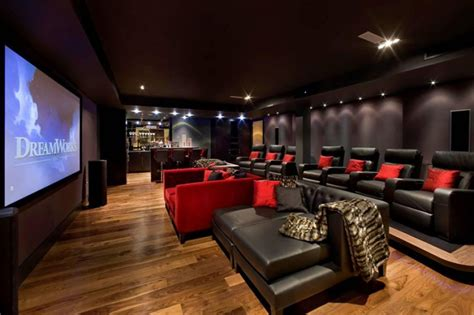 Home Theater Decorating by 15 Cool Home Theater Design Ideas Digsdigs