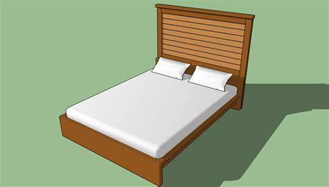 how to make a bed how to build a headboard for a bed howtospecialist how