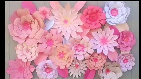 como hacer decoraciones con papel decoraciones con flores de papel backdrop flower ideas