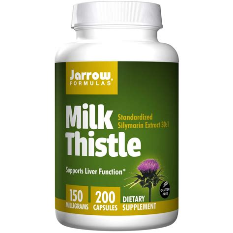 And Milk Thistle Saves Family From by Jarrow Formulas Milk Thistle 150 Mg 200 Capsules