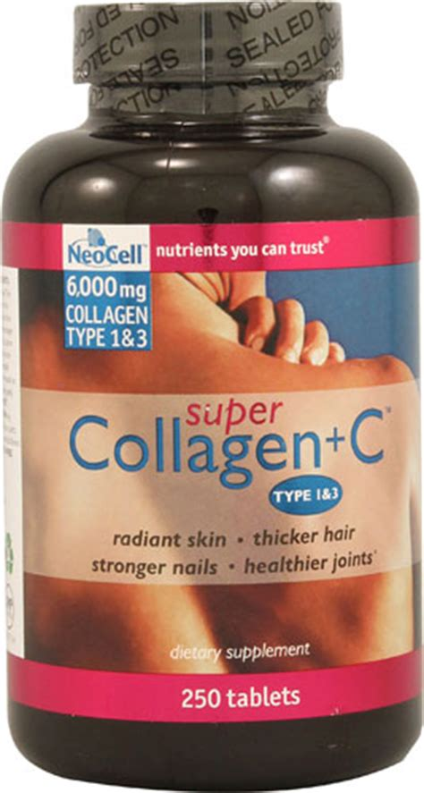 Collagen Plus Vit C collagen plus c tablets 120 tabs 13 56ea from neocell