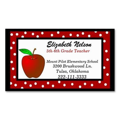 download teacher business cards template