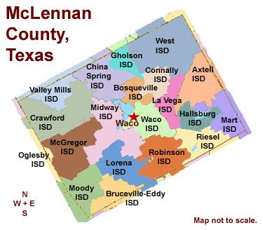map of mclennan county texas mclennan county texas