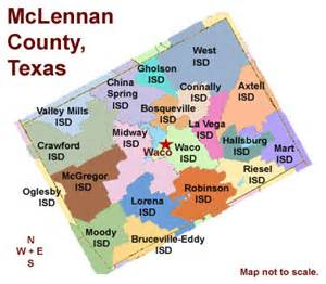 map of mclennan county mclennan county school districts