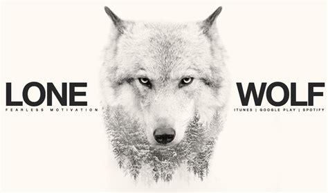 Lone Wolf lone wolf motivational for all those fighting