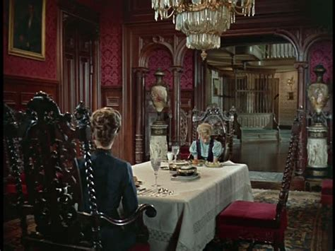 Wonderful Mansion Interior Design #6: Red-dining-room-pollyanna-movie-set.jpg