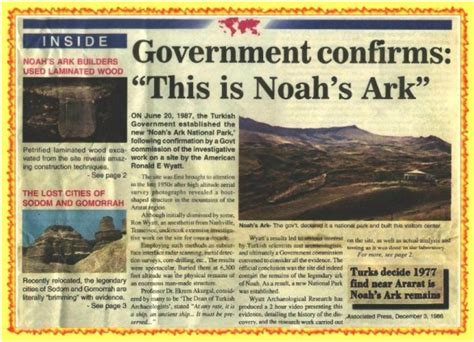 evidence of a true story of and in the suburbs books noah s ark has finally been found ntd tv