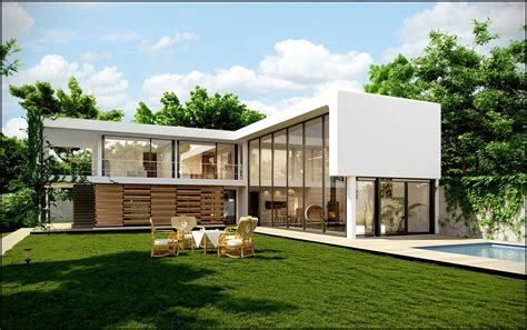 l shaped modern house plans architecture exterior impressive l shape small modern house designs with green area