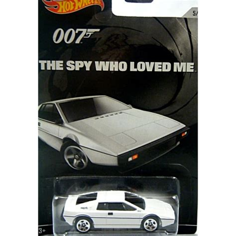 Hotwheels Lotus Jamesbond wheels bond 007 lotus esprit turbo the