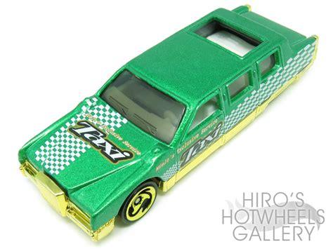 Hotwheels Limozeen 1998 Hitam Turbo Taxi Series wheels l hiro s hotwheels gallery