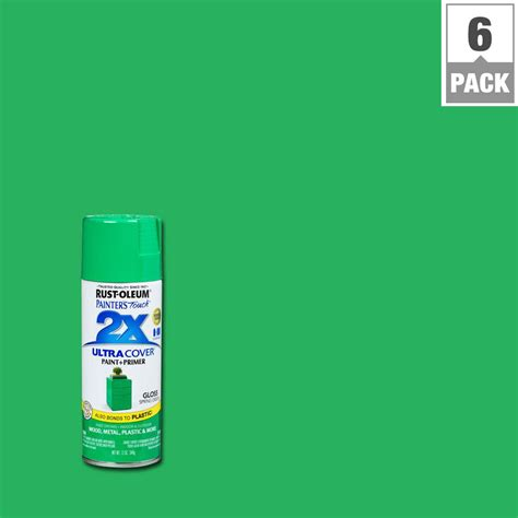 house spray painter rust oleum painter s touch 2x 12 oz gloss spring green