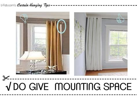 how to hang window treatments impressive 90 how to hang drapes design ideas of how to