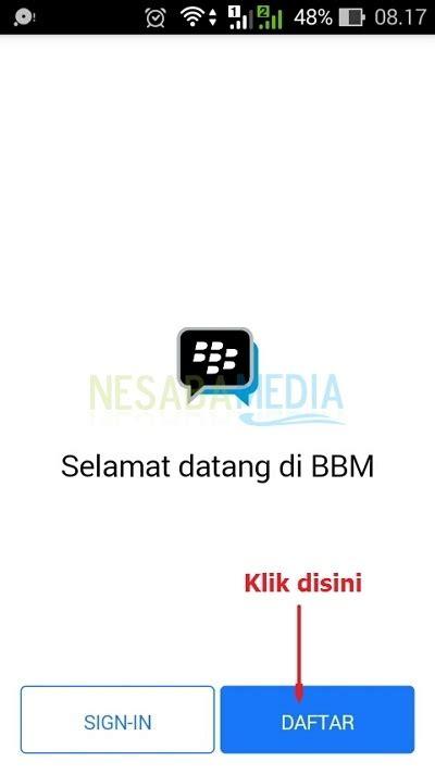 cara membuat email baru bbm di android cara membuat akun bbm baru di hp android terbaru 2018