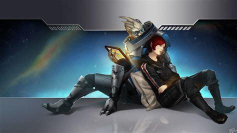 Mass Effect Desktop Wallpaper Mass Effect 3 Desktop Backgrounds Wallpaper Cave