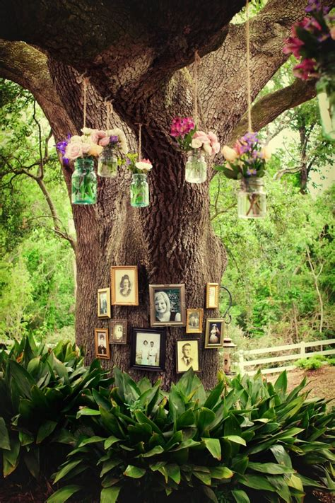 outdoor tree decorations exquisite outdoor wedding d 233 cor ideas decozilla