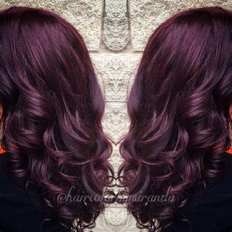 Pusple Maroon best 25 maroon hair ideas on maroon hair